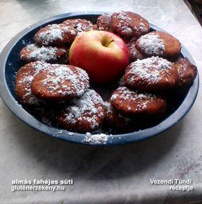 Almás korongok - gluténmentes süti Tünditől Vezendi Tünde volt olyan kedves és osztotta meg velünk egyik kedvenc almás gluténmentes sütemény receptjét. Gyors, olcsó, egyszerű és gluténmentes,