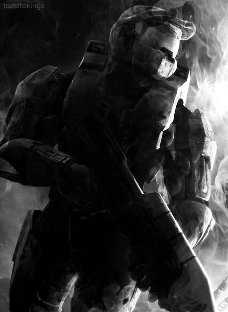 #Halo 4 Master Chief #Art