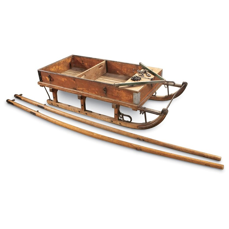 1000 images about antique sleds on pinterest runners for Vintage sleds