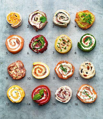 Cute mini-rolls / Mini-rolls adorabile :D -> www.facebook.com/maggiromania