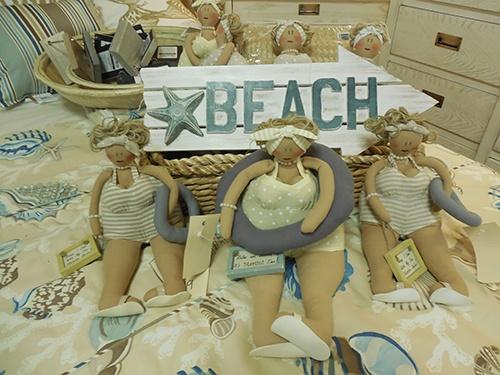 39 Fat Ladies At The Beach 39 Dolls So Cute Sunshine Furniture Vero Beach Fl Coastal Living