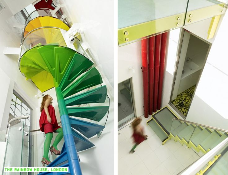 Ab Rogers Design. The Rainbow House.