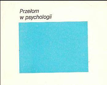 Przełom w psychologii