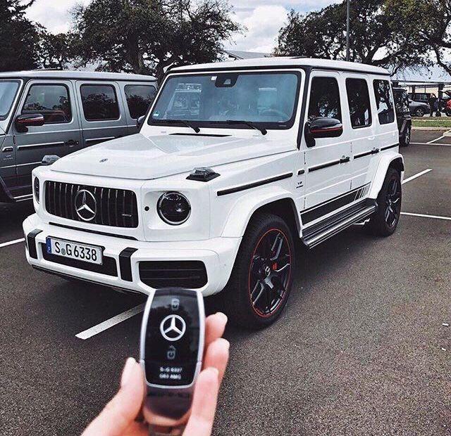 Mercedes Benz G Wagon White 2020