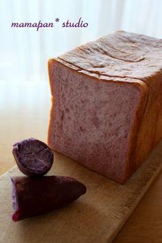 「しっとり紫芋ブレッド」 chi-   お菓子・パンのレシピや作り方【corecle*コレクル】