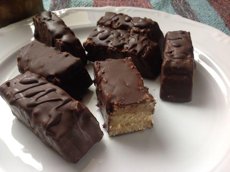 Domowe snickersy. Paleo, bezglutenowe. – Blog wolny od glutenu
