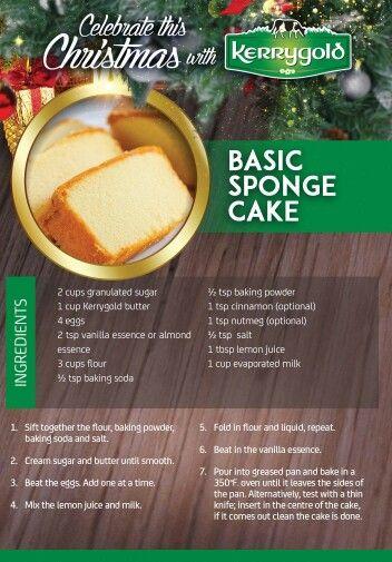 Trinidad sponge cake                                                                                                                                                     More