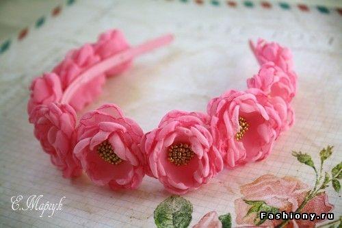 цветы из ткани своими руками: 17 тыс изображений найдено в Яндекс.Картинках