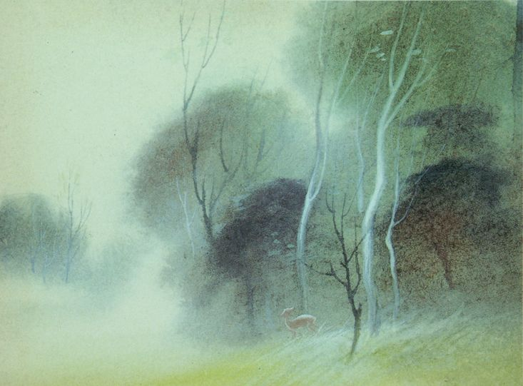 Bambi art - The glorious work of Tyrus Wong is unparalleled....