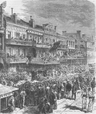 LOUISIANA: Civil War: New Orleans, Election Day, c1880