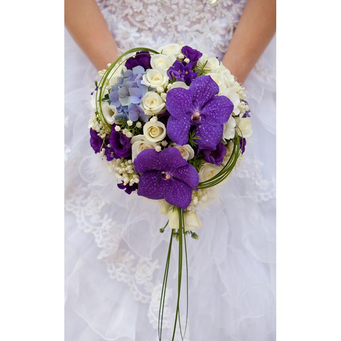 Connu Les 25 meilleures idées de la catégorie Bouquets de mariage bleu  PG68