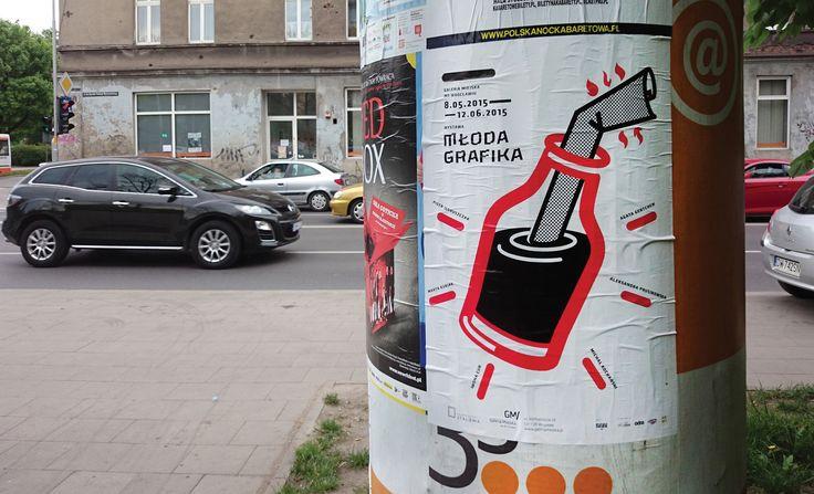 "Artur Skowronski ""Młoda grafika"" Galeria Miejska Wrocław"