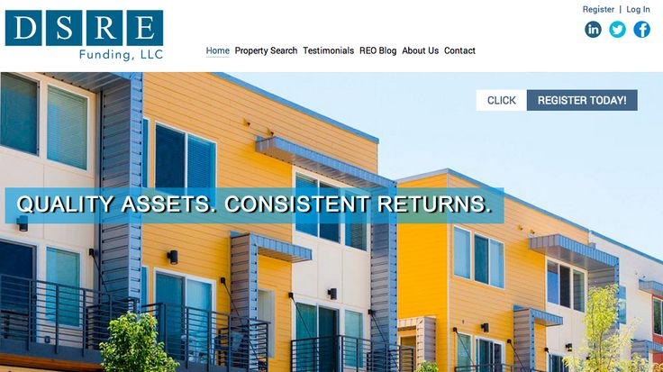 Our newest site completion.  This is for a Real Estate investment firm and includes a property management portal and CRM built in on the backend! http://dsrefunding.com/