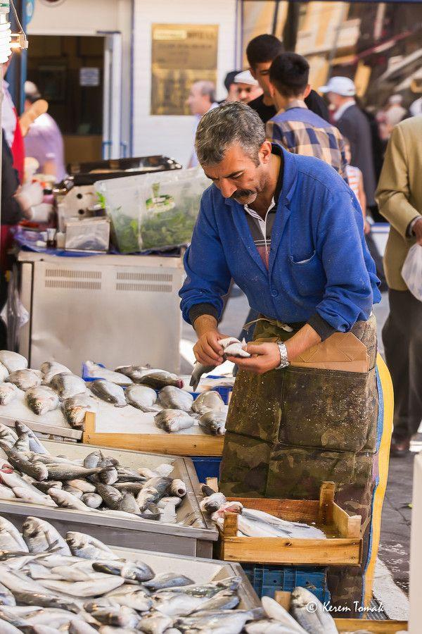 fish market, Ankara, Turkey