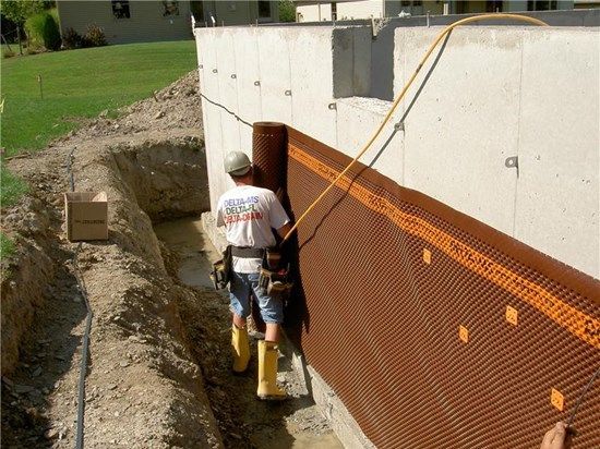 68 best gravity drains images on pinterest drainage for Foundation drainage solutions