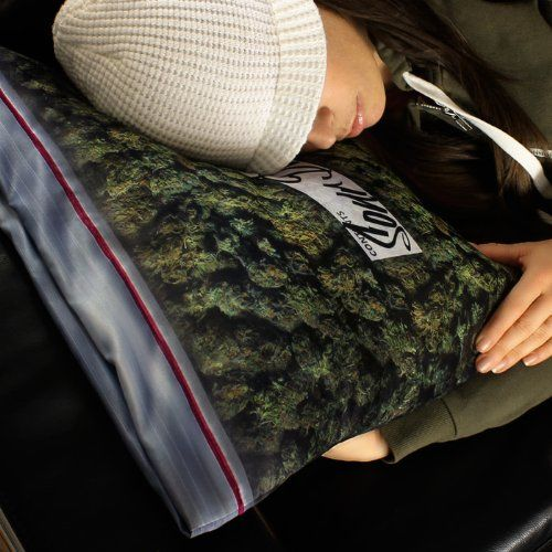 Baggie of Cannabis Pillowcase  Not for #junkies, it for everyone who love unique #pillowcase