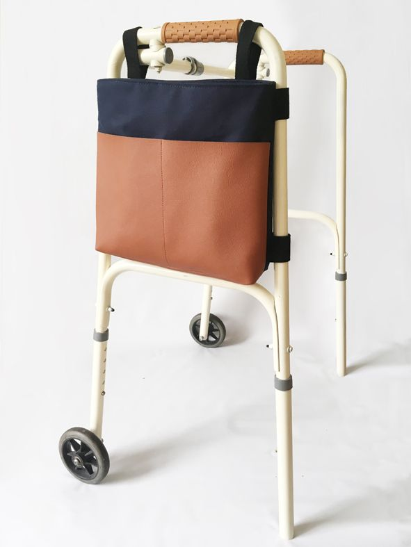 Walker tote bag. Smart and stylish for grannies and grandpas