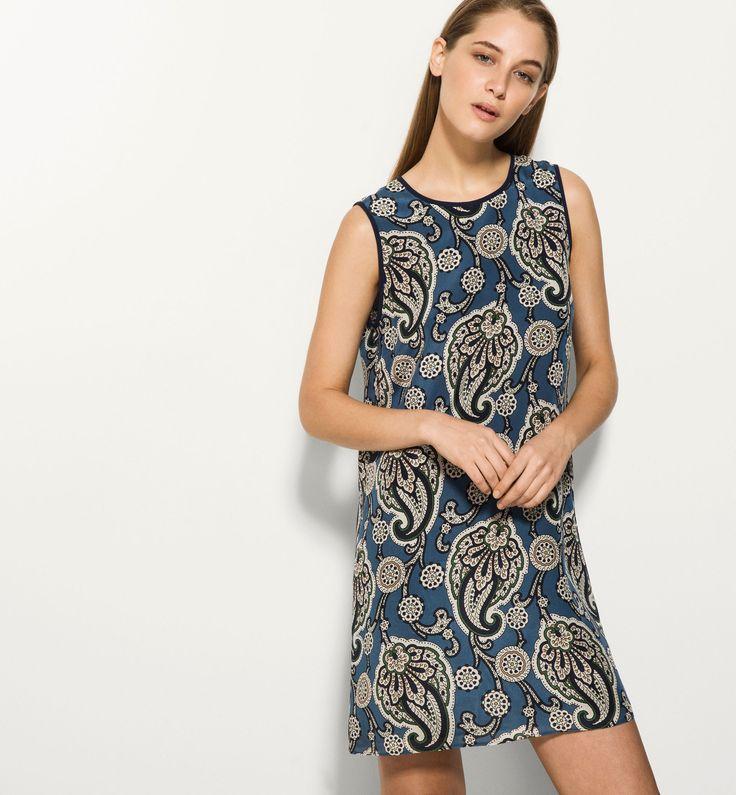 100% SILK TUNIC DRESS