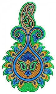 Velvet Applique Embroidery Design