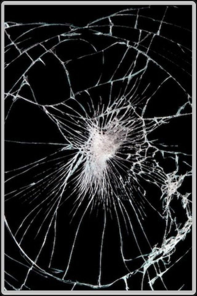Broken Phone Screen Wallpaper Обои