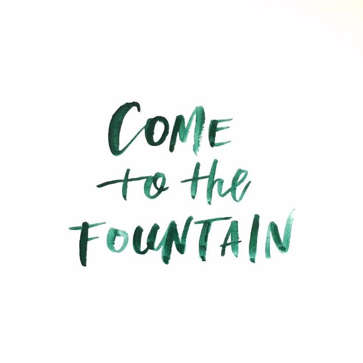 There is a peace There is a love You can get lost inside Come to the fountain Let me hear you testify -Needtobreathe ❤️ IF:Gathering