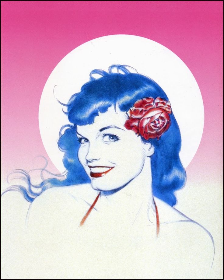 Bettie Page By Dave Stevens Dave Stevens Bettie Page