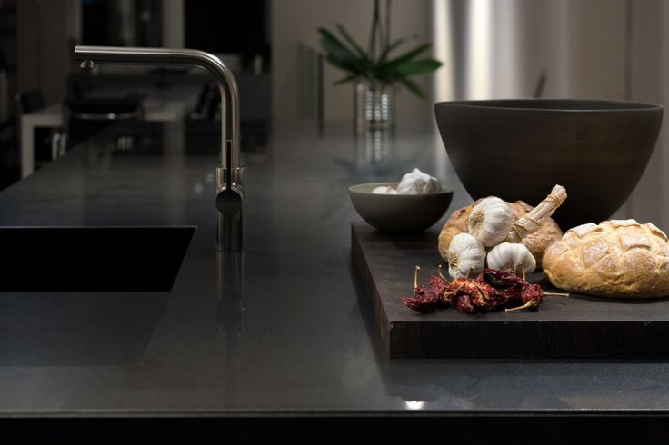The latest kitchen trend is dark and daring