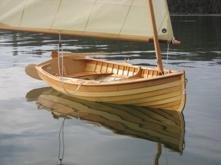 "Gartside 10' clinker dinghy ""Selkie""   Boats that I like   Boat, Wood boats, Wooden boat building"