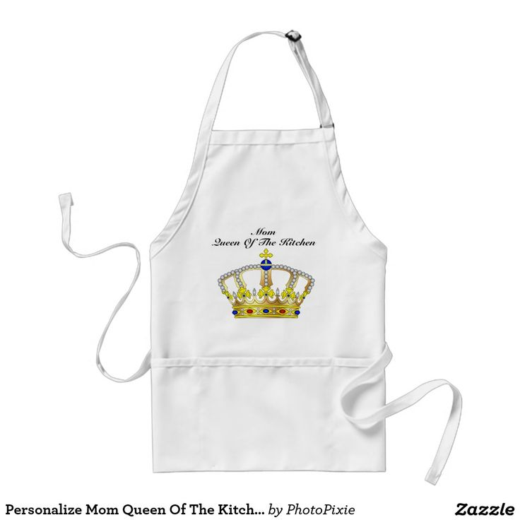 Personalize Mom Queen Of The Kitchen