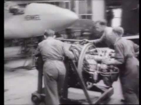 Erster Düsenjäger ME 262