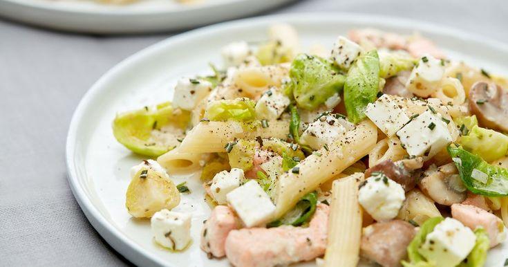 En ny pastafavoritt som kan serveres hele året. Kremet, smakfull og klar på bare 20 minutter.