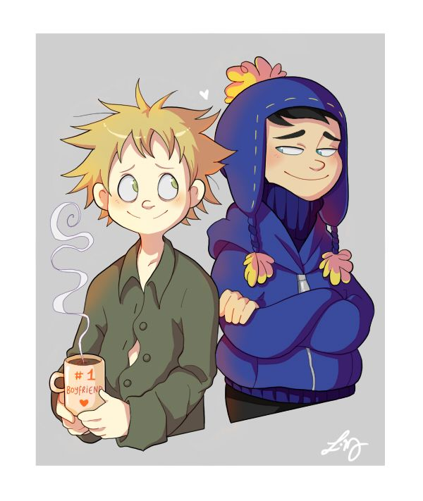Can you imagine how awkward it would have been if Michael just happened to be there at that moment? Because I can. South Park: © Trey Parker & Matt Stone Art: © Ishimaru-Miharu