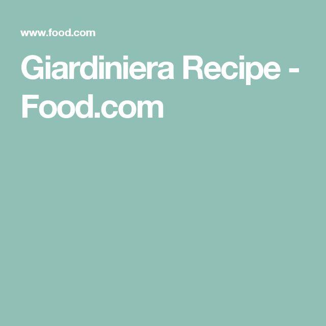 Giardiniera Recipe - Food.com