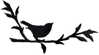 Printable Bird On Branch Silhouette | Stock| Stock vector of ' vector silhouette of the bird on branch'. Description from pinterest.com. I searched for this on bing.com/images