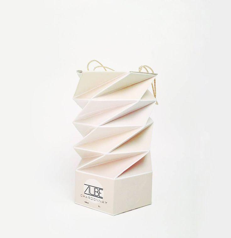 Упаковка для вина для особо жадных от дизайнера Milagros Rodriguez #Design #Creative #Ads