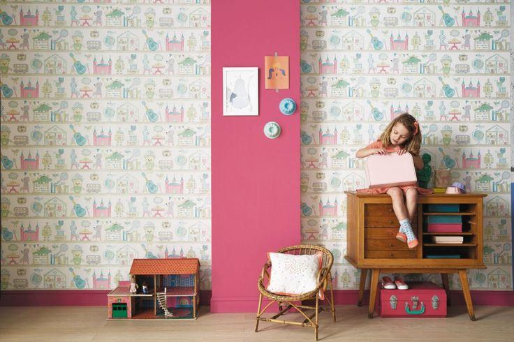 Pokój małej dziewczynki: 20 pomysłów na bajkowe tapety  - zdjęcie numer 6