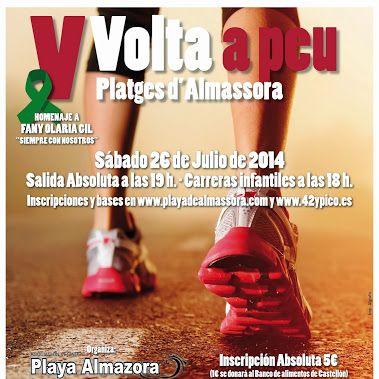 Así fue la V Vuelta a Pie playas de Almassora 2014, en la que FIATC Castellón participó asegurando la carrera con los seguros de Responsabilidad Civil http://www.fiatc.es/seguros-responsabilidad-civil y Accidentes http://www.fiatc.es/accidentes