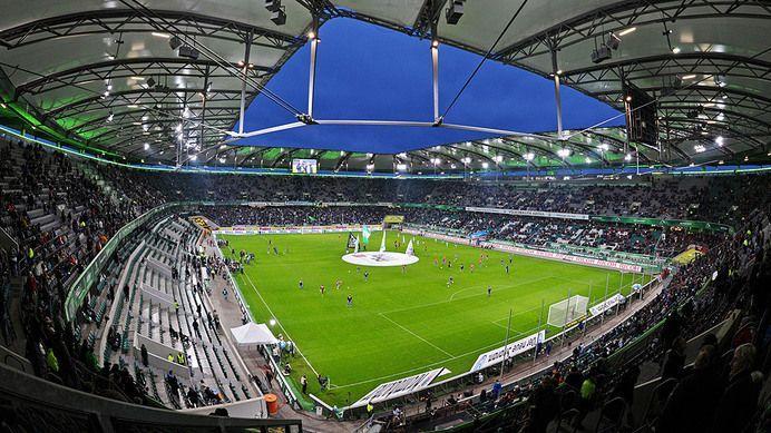 Volkswagen Arena – VFL Wolfsburg Capacity: 30.000