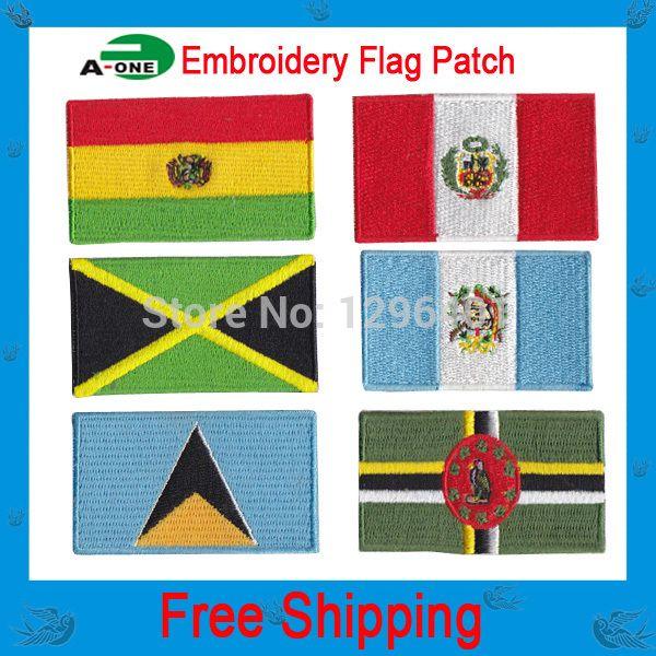 Национальный флаг патчи для джинсов каменный остров значки 10 шт./лот горячая резка Железа на мануфактуры 100% наб низкая цена добро пожаловать индивидуальные