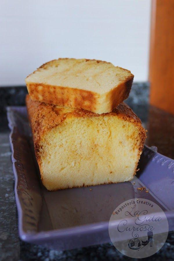 Bizcocho de leche condensada. Volvemos a dejarte la receta de este bizcocho tan exquisito del blog La Gata Curiosa.