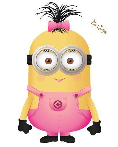 Minion pink y bb