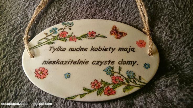 Decoupage po godzinach: Polacy nie gęsi...