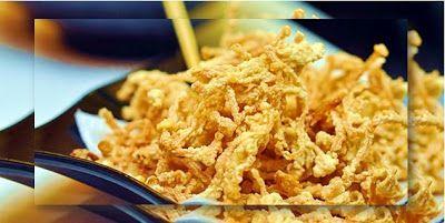 Resep dan Bumbu Jamur Enoki Krispi Super Renyah