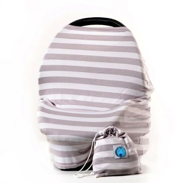 Nursing Cover Baby Car Seat Coverage 4 Uses Breastfeeding Blanket Scarf Hider - http://baby.goshoppins.com/feeding/nursing-cover-baby-car-seat-coverage-4-uses-breastfeeding-blanket-scarf-hider/