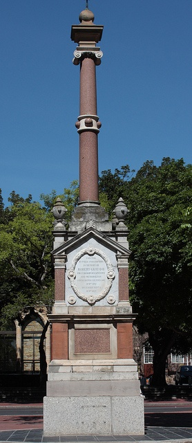 Monument errected in memory of Robert Gray, Bishop of Cape Town by Kleinz1, via Flickr