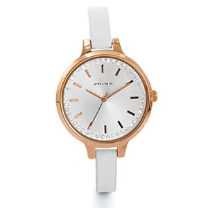 febd1fdcd2d94 Minx Watch with rose gold dial from Sterns