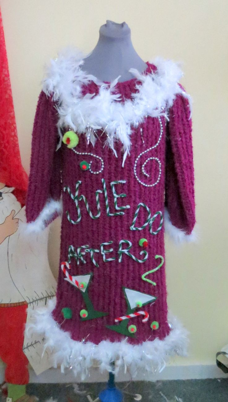 The 91 best UGLY CHRISTMAS SWEATER DRESSES images on Pinterest ...