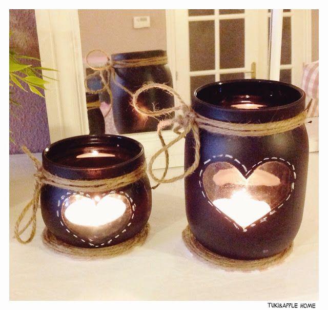 M s de 25 ideas incre bles sobre porta velas en pinterest - Farolillos para velas ...