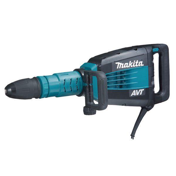 Makita HM1214C, 27 lb. Demolition Hammer with AVT (SDS Max) http://cf-t.com/product/makita-hm1214c-27-lb-demolition-hammer-with-avt-sds-max/