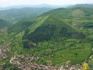 An ancient pyramidal complex in Visoko, a town near Sarajevo, Bosnia and Herzegovina, is reported to have the largest and oldest pyramid on Earth, so-called Bosnian Pyramid of the Sun.
